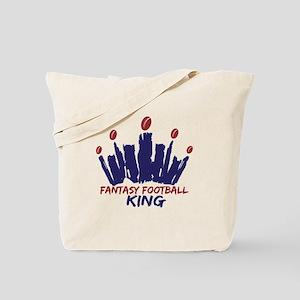 Fantasy Football King Tote Bag