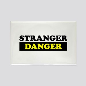 Stranger Danger Rectangle Magnet