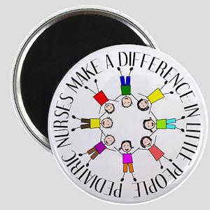 pediatric nurses circle WITH KIDS Magnet