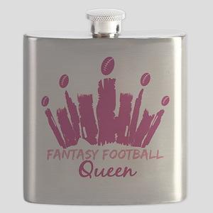 Fantasy Football Queen Flask