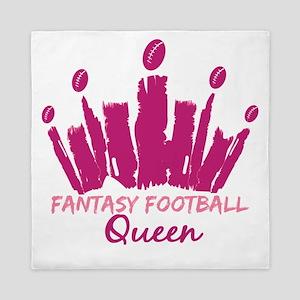 Fantasy Football Queen Queen Duvet