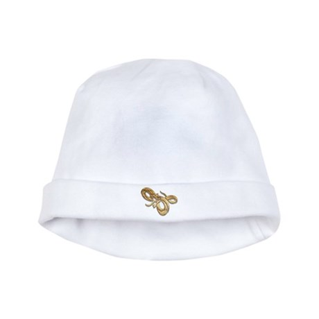 Snake baby hat