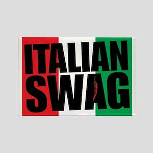 Italian Swag Rectangle Magnet