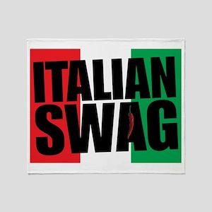 Italian Swag Throw Blanket