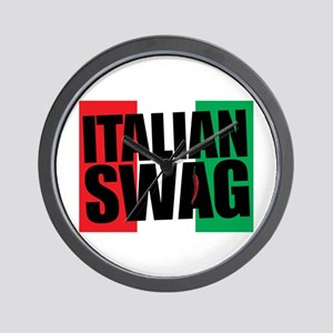 Italian Swag Wall Clock