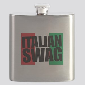 Italian Swag Flask