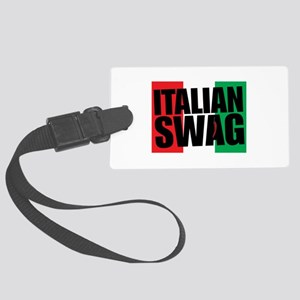 Italian Swag Large Luggage Tag