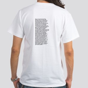 To be or not to be - White T-Shirt