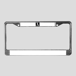 Elegant horse License Plate Frame