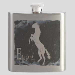 Elegant horse Flask