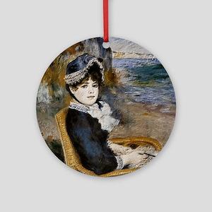 Pierre-Auguste Renoir - Femme assise au bord de la 74d044e1dc66