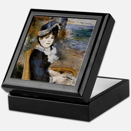 Pierre-Auguste Renoir - Femme assise au bord de la