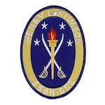USS HENRY L. STIMSON Ornament (Oval)
