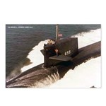 USS HENRY L. STIMSON Postcards (Package of 8)