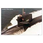 USS HENRY L. STIMSON Large Poster
