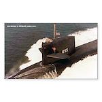 USS HENRY L. STIMSON Sticker (Rectangle)