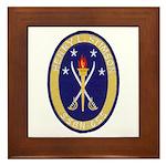 USS HENRY L. STIMSON Framed Tile