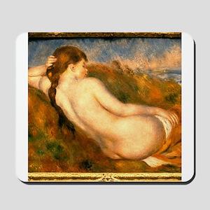 Monet Reclining Nude Mousepad