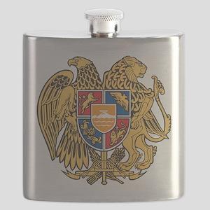 Armenia Coat of Arms Flask