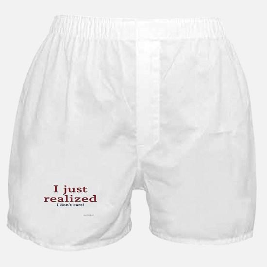I don't care! Boxer Shorts