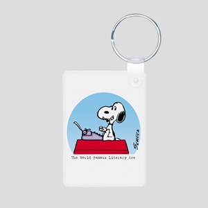 Literary Ace Aluminum Photo Keychain
