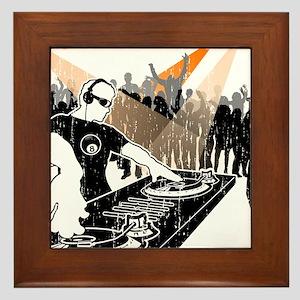 DJ 8-Ball Framed Tile