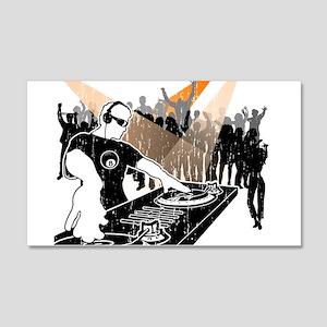 DJ 8-Ball 20x12 Wall Decal