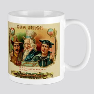 Spanish American War Cigar Box Label Mug