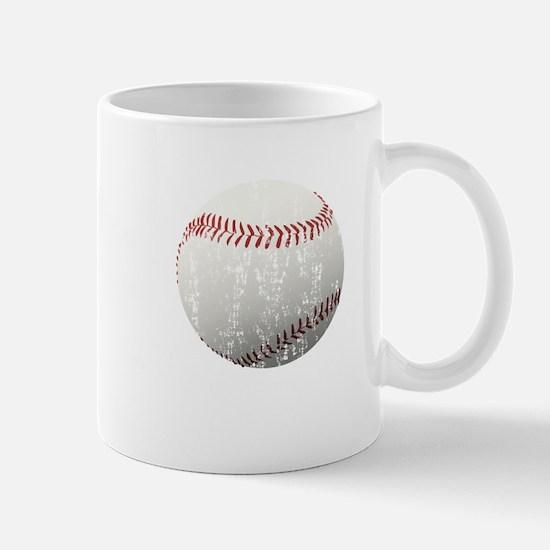 Baseball Distressed Mug