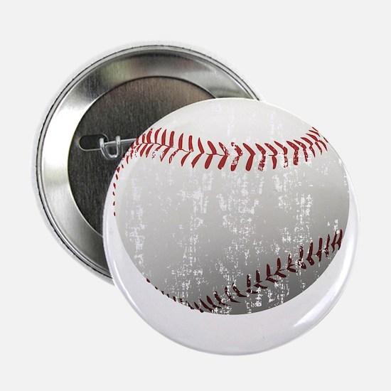 "Baseball Distressed 2.25"" Button"