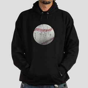 Baseball Distressed Hoodie (dark)