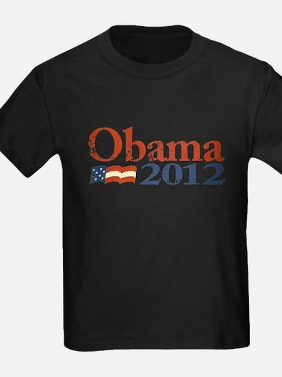 Obama 2012 Faded T