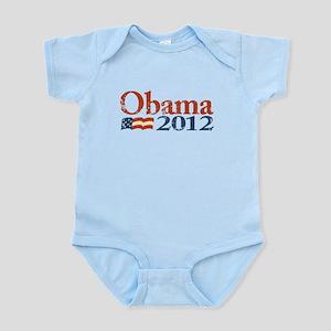 Obama 2012 Faded Infant Bodysuit