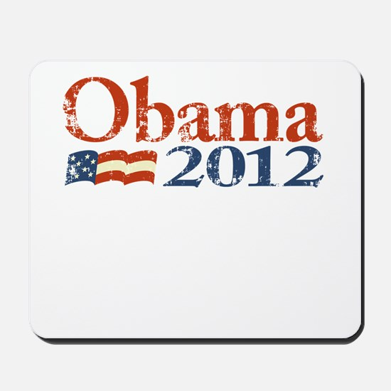 Obama 2012 Faded Mousepad