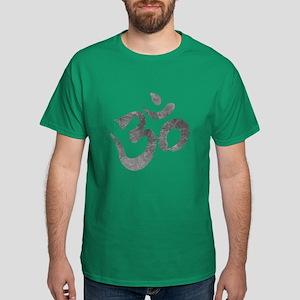 Metallic Om/Aum Shirt Dark T-Shirt