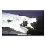 USS HOUSTON Sticker (Rectangle)