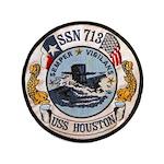 USS HOUSTON Button
