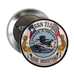 "USS HOUSTON 2.25"" Button"