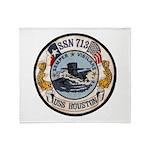 USS HOUSTON Throw Blanket