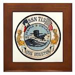 USS HOUSTON Framed Tile