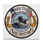 USS HOUSTON Tile Coaster