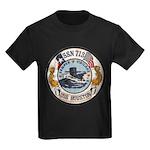 USS HOUSTON Kids Dark T-Shirt