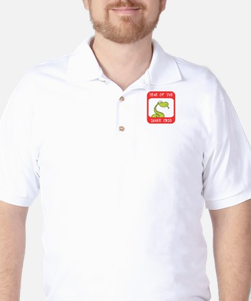 Year of The Snake 1953 Golf Shirt