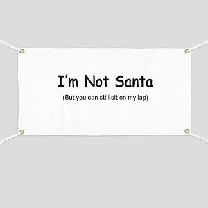 Rude Christmas Sayings Banners - CafePress