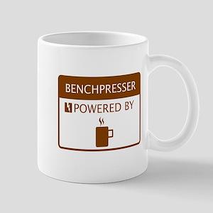 Benchpresser Powered by Coffee Mug