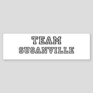 Team Susanville Bumper Sticker