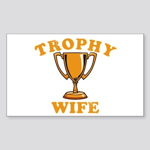 Trophy Wife 1 Sticker (Rectangle)