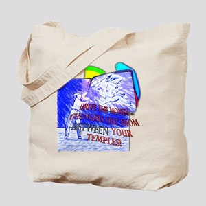 Drive the Money Changers From Between Tote Bag