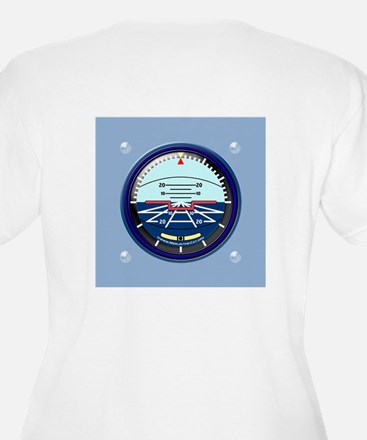 Artificial Horizon (blue) T-Shirt