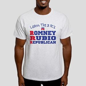 Romney Rubio Republican 2012 Light T-Shirt